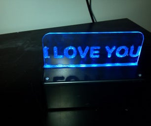 I Love You Sign Using an Arduino