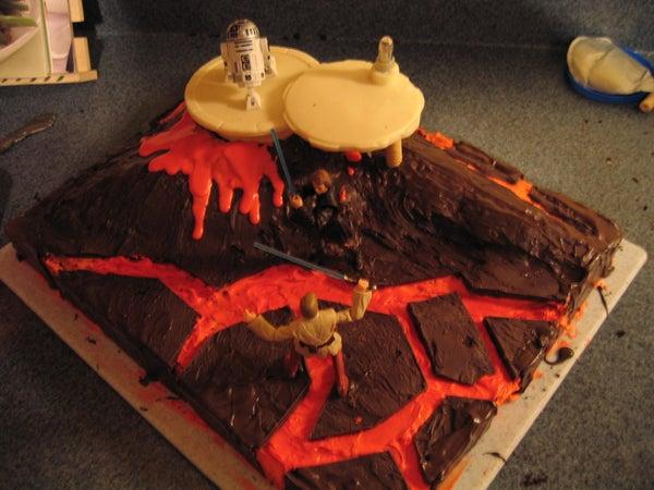 Star Wars Cake (Mustafar)
