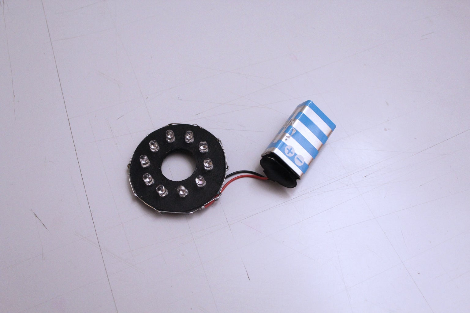 REALISE AN  IR LED LIGHT - SUPPORT
