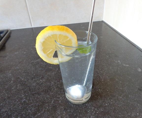 Citrus-mint drink