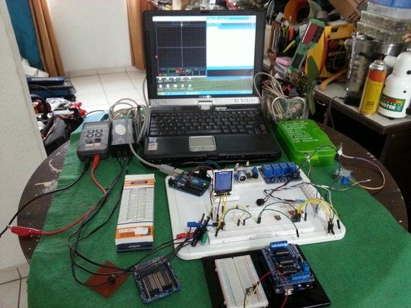 Portable, Modular Electronics /Arduino Experimenters and Repair Lab Set Up.