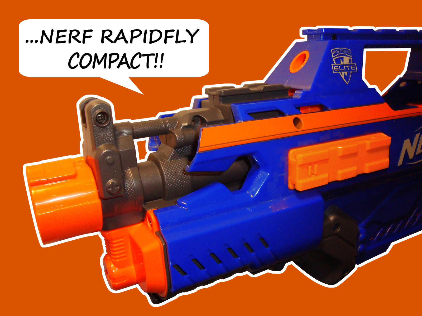 Nerf Rapidstrike Modding Guide Pt.1