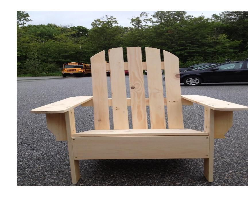 Building Adirondack Chairs