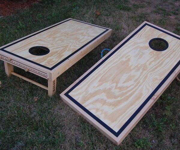 The Cornhole Boards