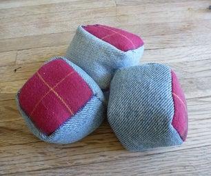 Cubic Juggling Bags