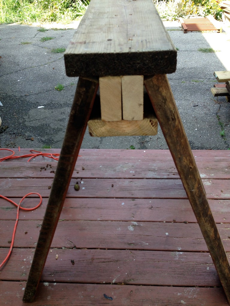 Attach Legs to Top