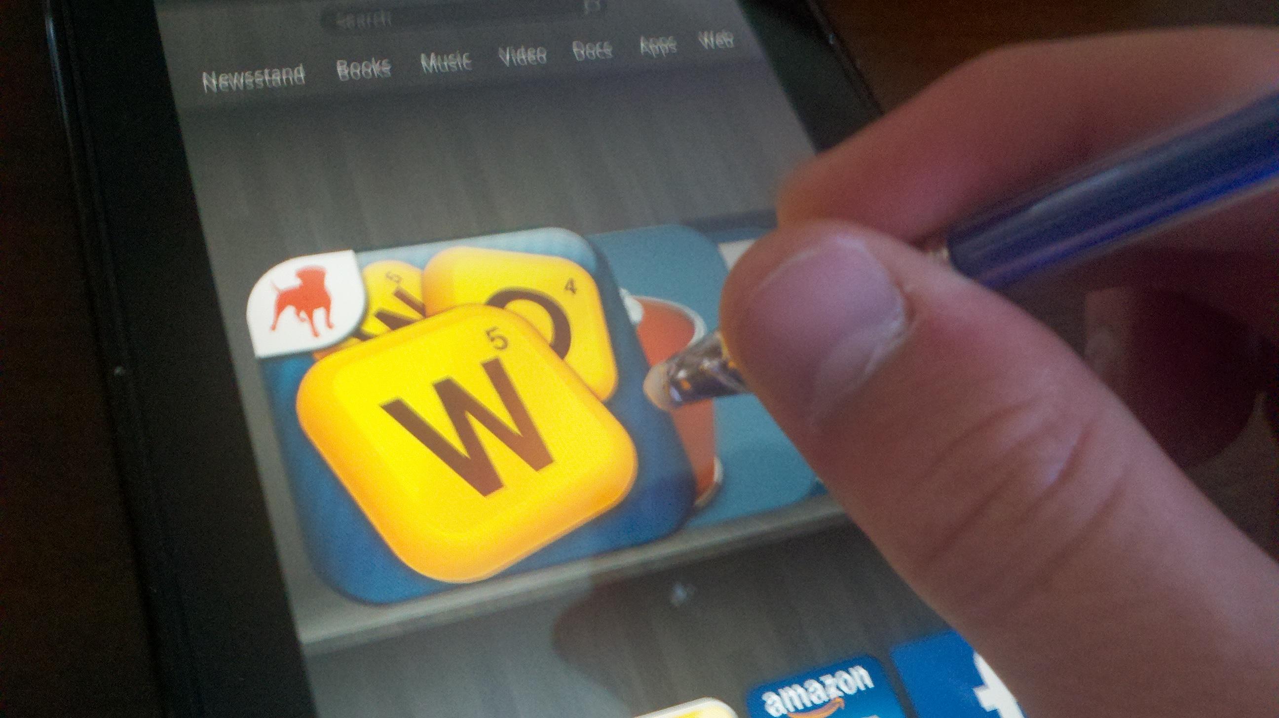 Touchscreen stylus