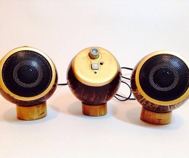 Coconut Speaker.