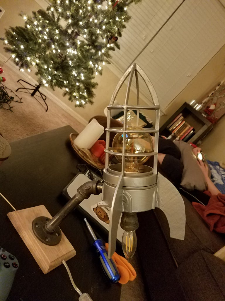 Finished and Go for Launch!