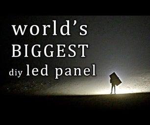 Building the WORLD'S BIGGEST Diy LED Panel