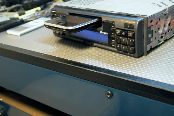 -=ver 2.0=- Literally : Dock Your Iphone Itouch Ipod to Your Car Audio Cassette Slot