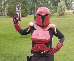 Mandalorian Costume (Female) With Active Reticle!