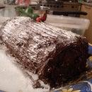 Chocolate Yule Time Log