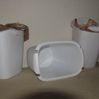 Rubbermaid plastic grocery bag trash cans.JPG