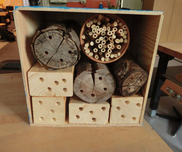 Creating a Bee House