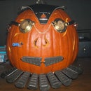 The Making of a Steampunk Pumpkin