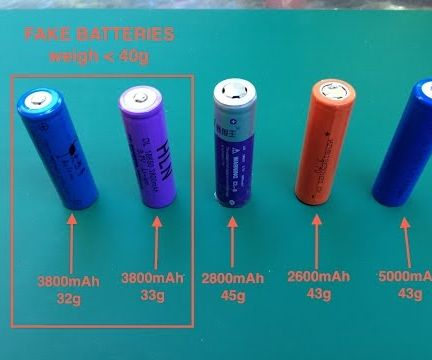 How to Know a Fake 18650 Battery