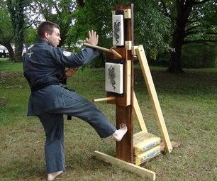 Karate Wooden Dummy