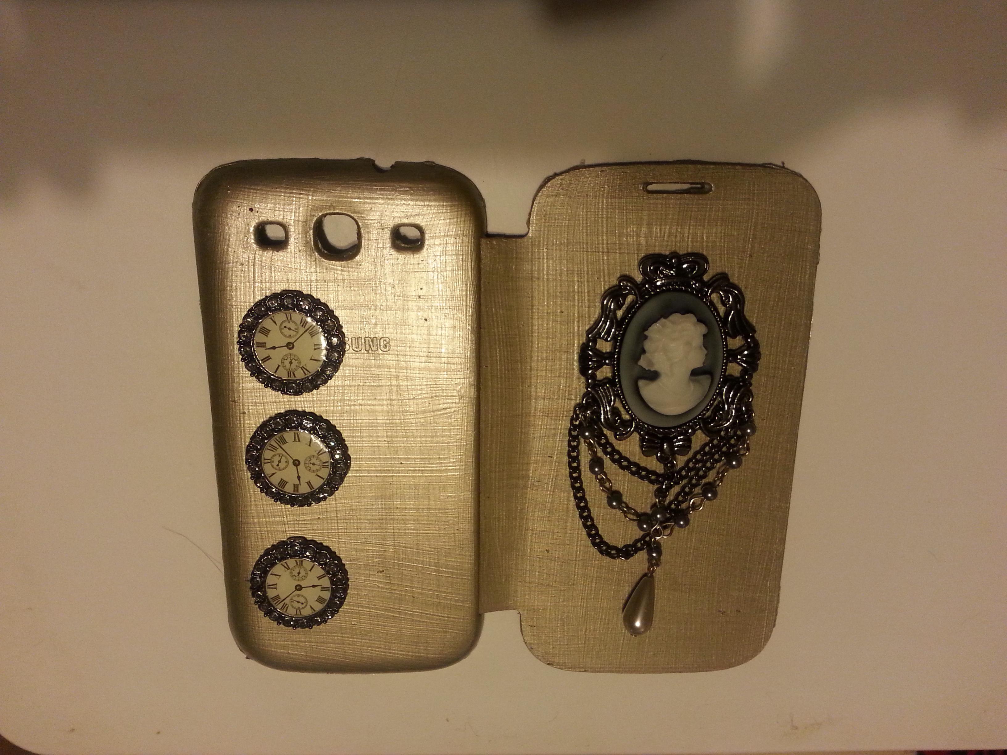 Steampunk/Elegant Mobile Phone Case