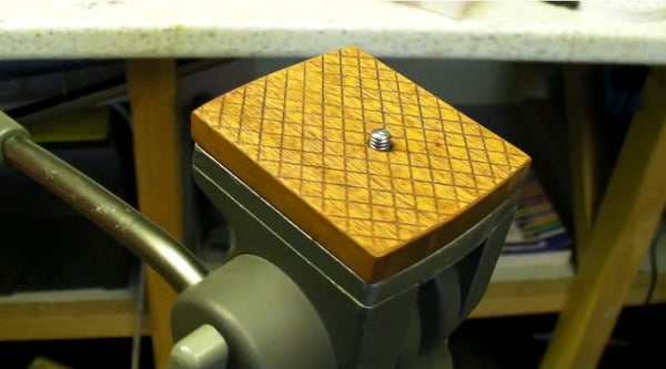 Wooden Quick Release Plate - DIY Camera Tripod Mount