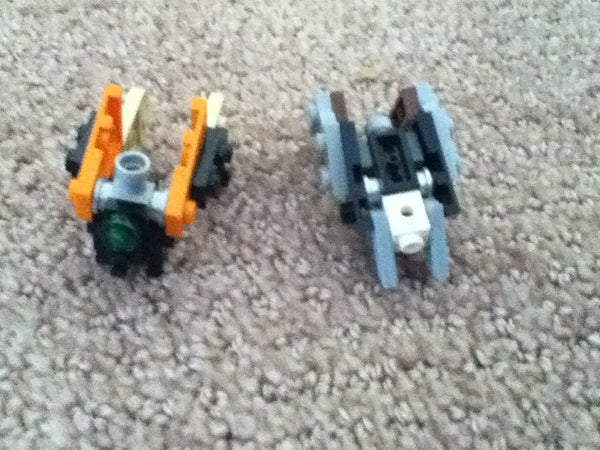 Lego Transformer Insecticons