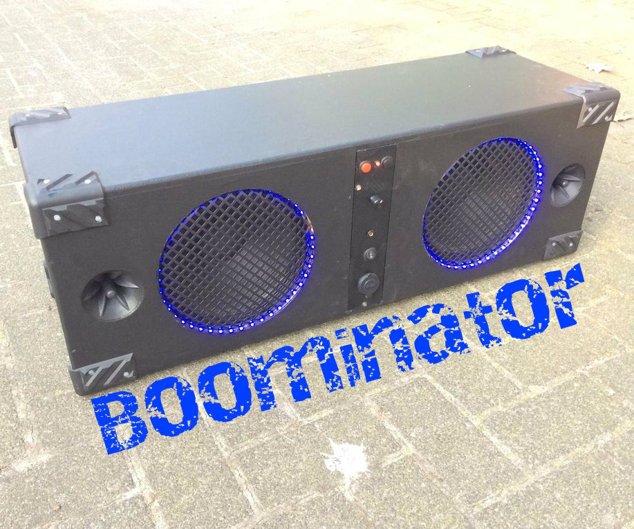The Boominator: 360° of 115dB music