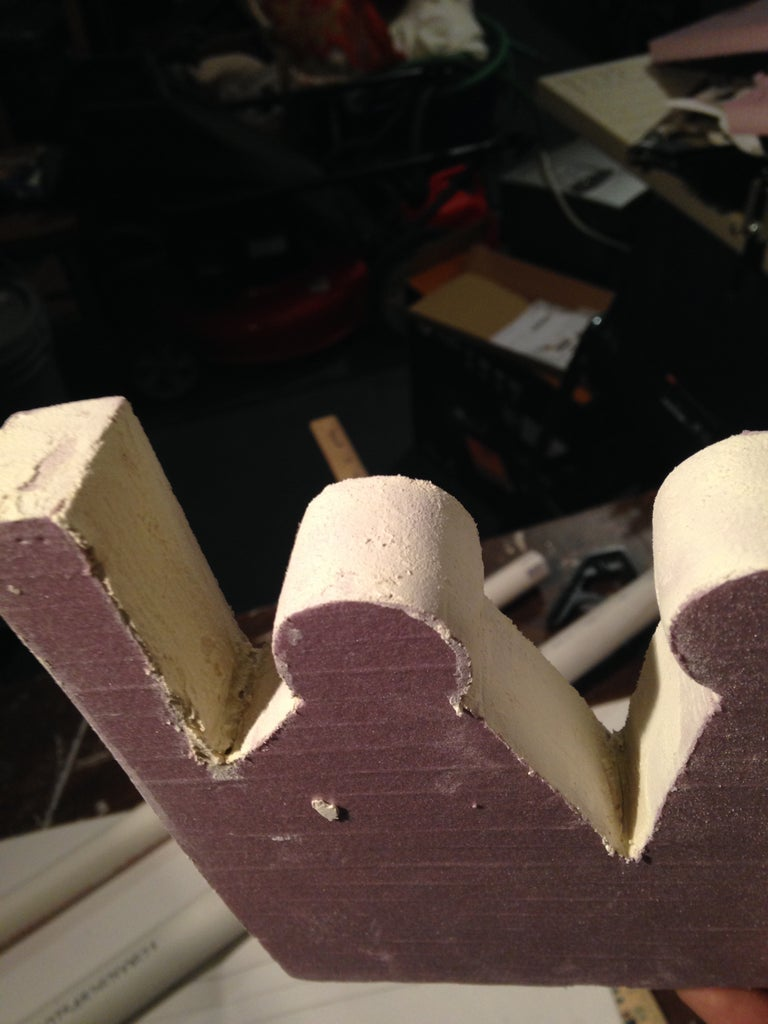 Spackle and More Sanding