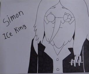 Como Dibujar a Simon the IceKing