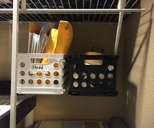 Floating Crate Shelves for Under $3
