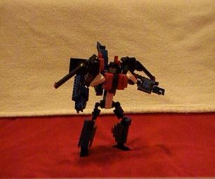 Lego Transformers: Starscream (WITH VIDEO!)