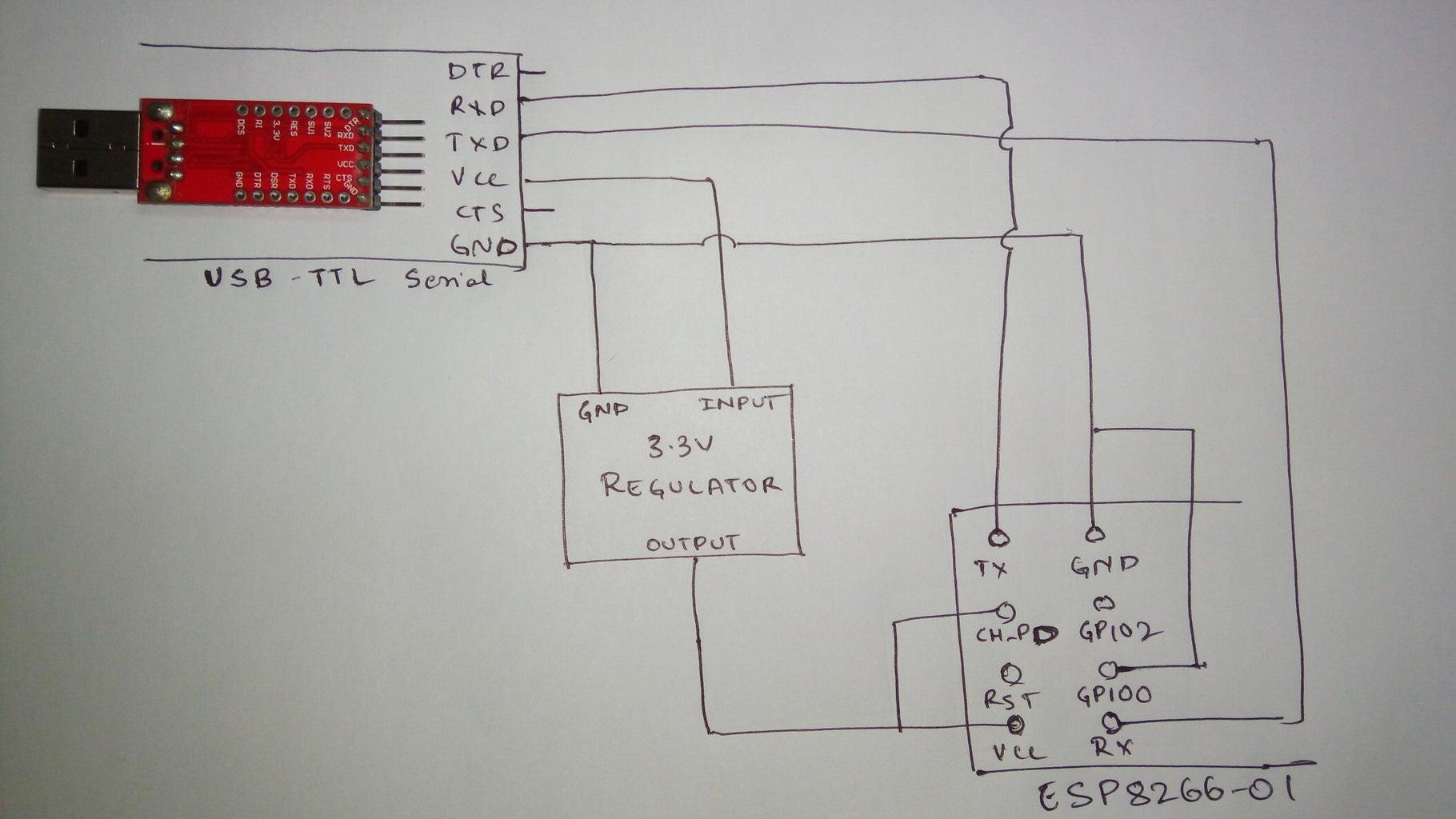 Flashing ESP8266 Firmware