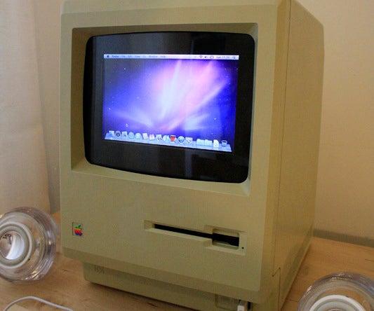 Upgrade Your Original 1984 Macintosh to Run OS X Snow Leopard.