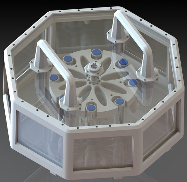 Design for a 3D Printed Culinary Centrifuge