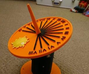 Self Calibrating Sundial