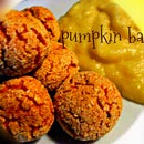 Easy and quick meal: Pumpkin balls with just 3 ingredients