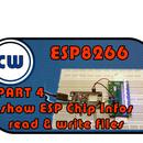 EPS8266 Webserver Group LED Control UI + Read & Write Files + Show ESP Chip Infos + DHT22 + PWM + I2C + JSON