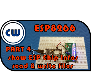 EPS8266 Webserver Group Control LED + Read & Write Files + Show ESP Chip Infos + DHT22