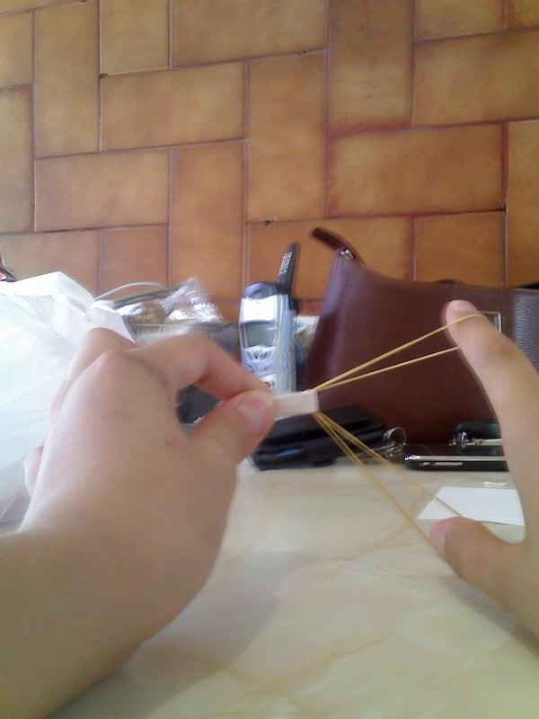 Rubberband Paper Launcher