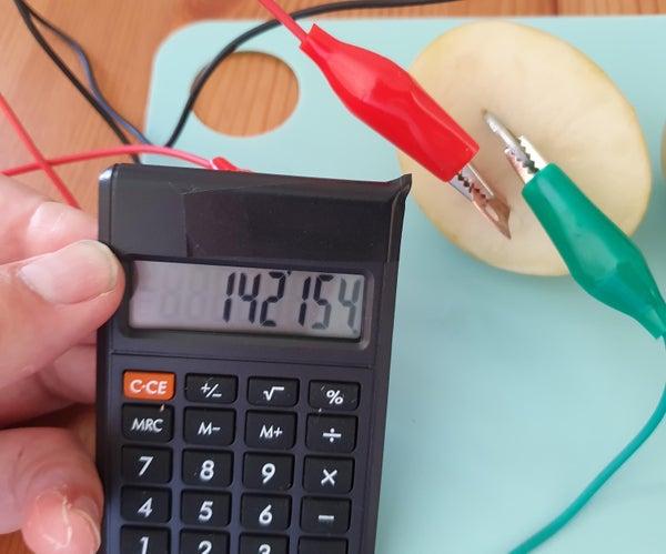 Potato Powered Calculator