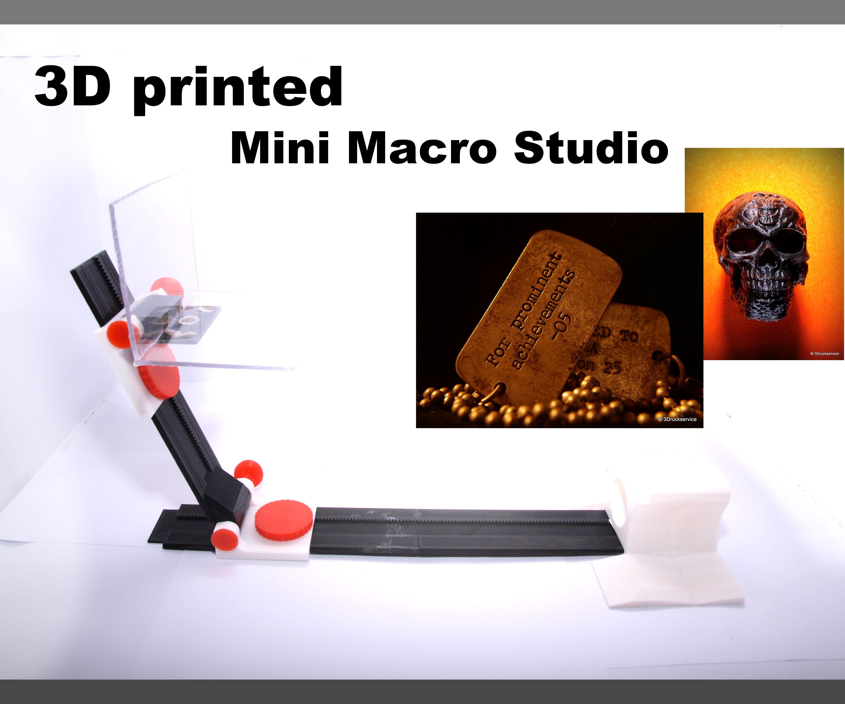 3D printed Mini Macro-Studio