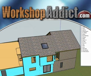 How to Use Google Sketchup --- Layers and Scenes --- Tutorial #8