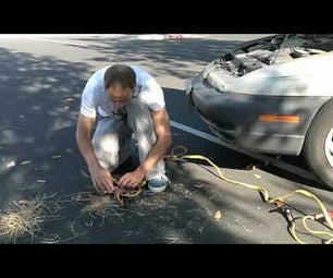 How to Start a Fire With a Car Battery