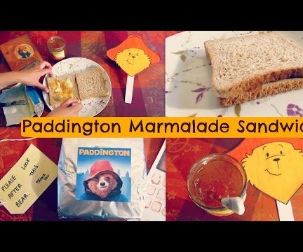 Paddington Marmalade Sandwich Recipe