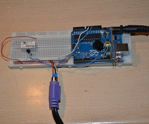 The Morse Code Generator by a PS\2 Keyboard