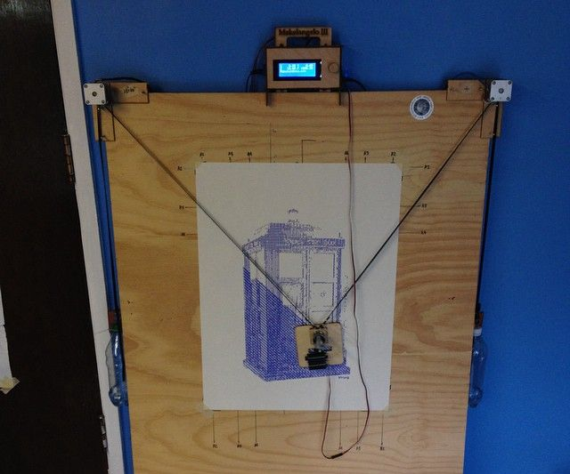 How to transform a Makelangelo 3 into a 3D printer