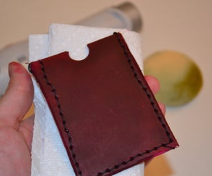 Leather Gift Card Holder