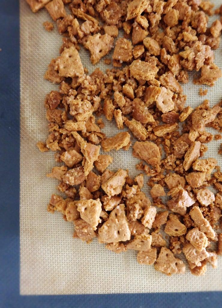 Make the Graham Cracker Streusel