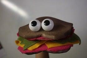 Sandwich Puppet