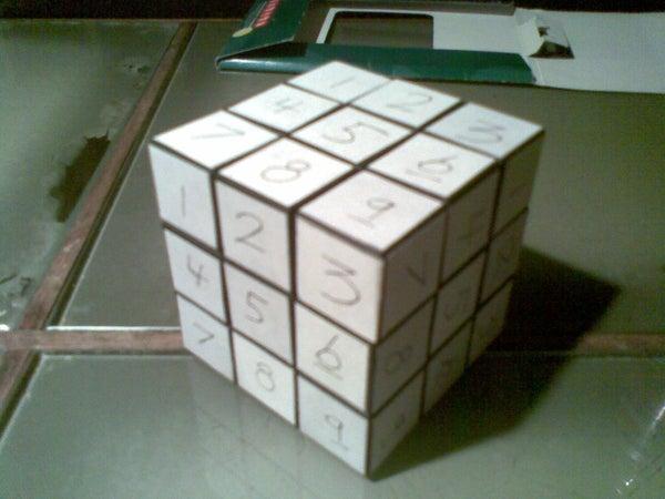 SudoKube - Rubik's Sudoku Cube