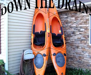 How to Make a Kayak Drainage Port